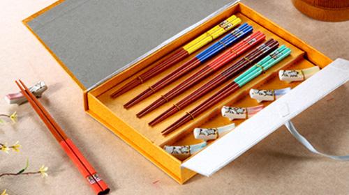 红木筷子 - 茗腾礼筷