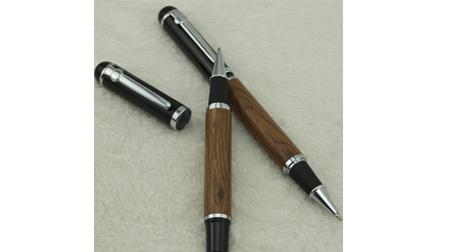 木纹金属笔