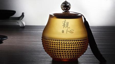 琉璃茶叶罐