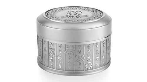 百茶锡罐茶叶罐