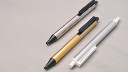 金属质感原子笔、中性笔