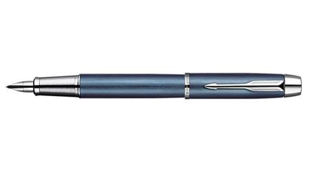 《派克笔》IM星光蓝白夹墨水笔