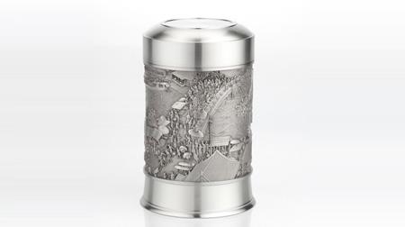 清明上河图锡罐
