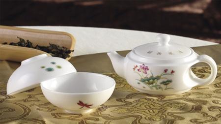 清风荷韵珍珠茶具