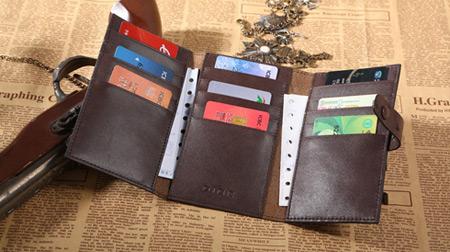 三折休闲卡包