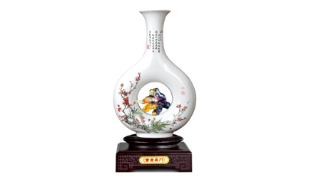 古法烧制琉璃+骨瓷