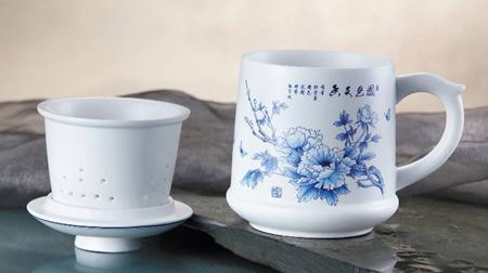 陶瓷杯、茶叶杯