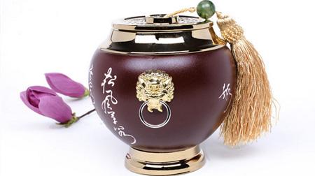 路宝茶叶罐