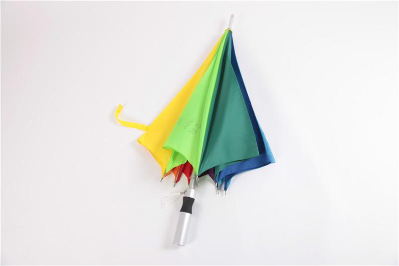 八开彩虹伞