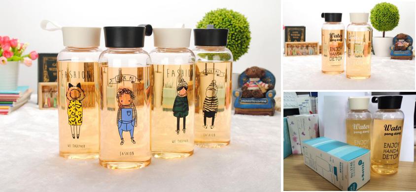 韩版时尚水瓶