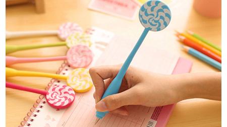 棒棒糖弯曲笔