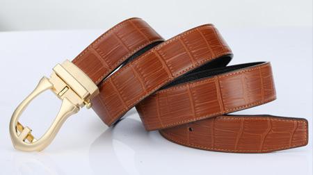 豪爵袋鼠两用自动和针扣皮带