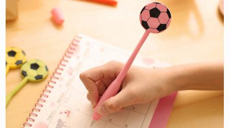 足球弯曲笔