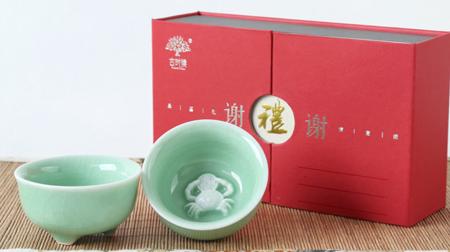 """谢""""蟹""""陶瓷杯 茶杯"""