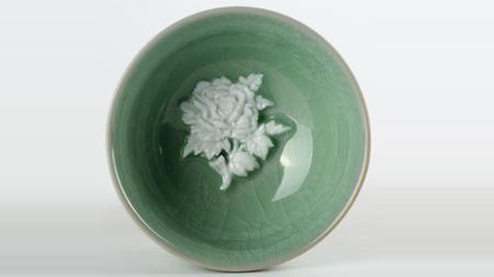 富贵坚固(花开富贵)陶瓷杯 茶杯
