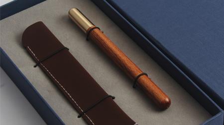 红木笔 知书·现代文房2件套