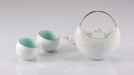 望月系列一壶二杯茶具 茶壶 茶杯