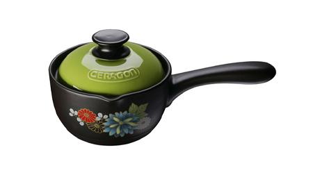 耐热砂锅 奶锅炖锅陶瓷煲 耐热单柄奶锅 LY0024A-10G