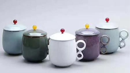 五大名窑之办公杯、陶瓷杯