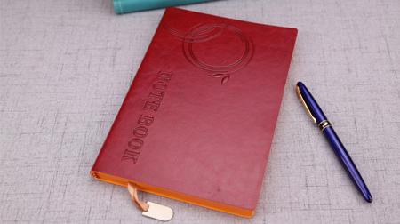定做pu笔记本 仿皮软面手抄本 变色皮软面记事本