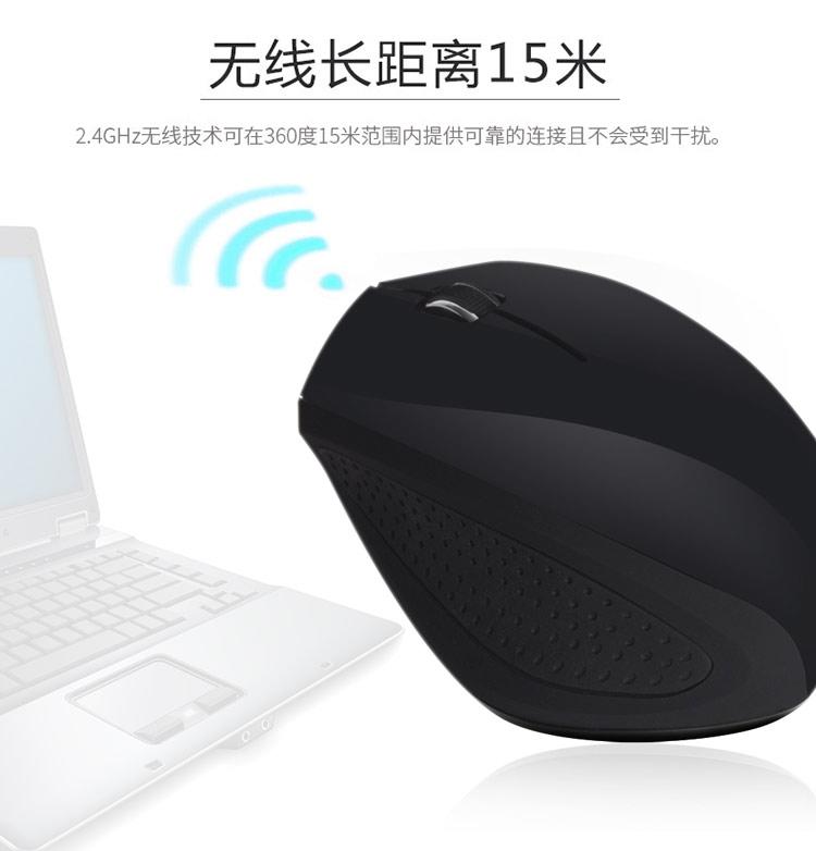 CM860无线鼠标 笔记本台式电脑无限鼠标通用省电