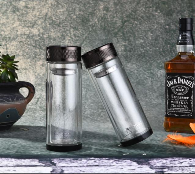 紫罗兰(双层水晶杯) 玻璃杯