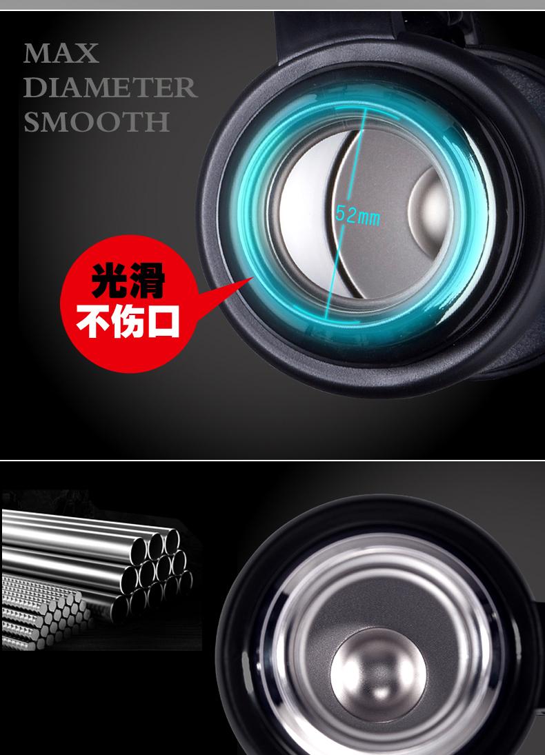 BTSM戴利克304不锈钢保温壶家用大容量户外运动水壶1L