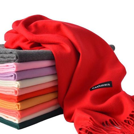 仿羊绒柔棉系围巾