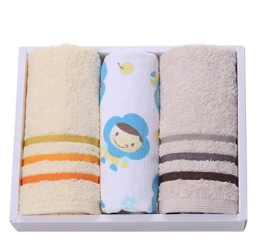 洁丽雅亲子装 纯棉毛巾礼盒装