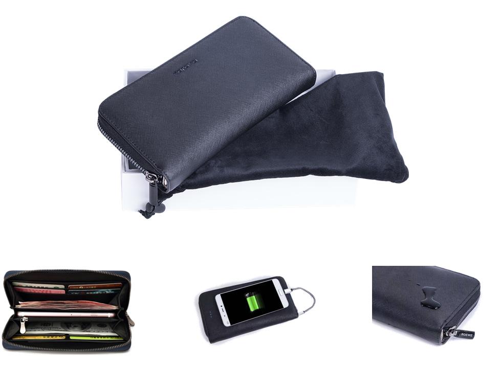 臻 · 商务手包/护照包(内置移动电源)Prada纹真皮版
