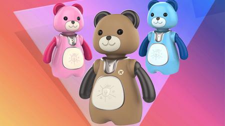 晓晓熊智能机器人早教儿童语音对话教育机器人 智能陪伴玩具