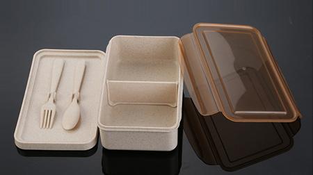 小麦杆便当盒、餐盒