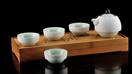 般若B一壶四杯+茶盘 茶具套装