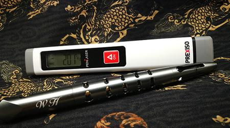 PREXISO P10笔型测距仪 徕卡合作 秒速测距 方便携带