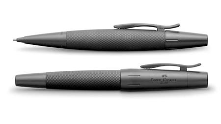 德国辉柏嘉高级树脂宝珠笔、墨水笔--全金属笔身,PVD涂层