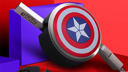 Marvel  数据线 二和一(安卓转苹果)伸缩款 极电系列-美盾