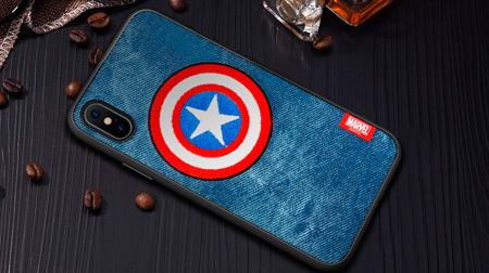 Marvel  iPhone 5.8 保护壳 领航刺绣系列-美盾