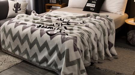 尚品暖冬毯、毛毯180×200cm